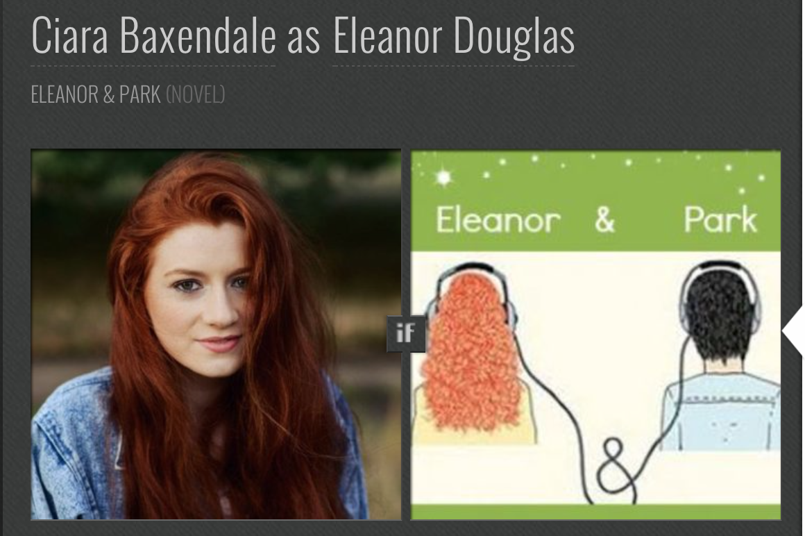 eleanor and park casting - photo #2