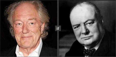 Michael Gambon will play Winston Churchill