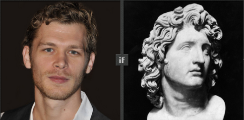 Joseph Morgan proposed for Alexander The Great