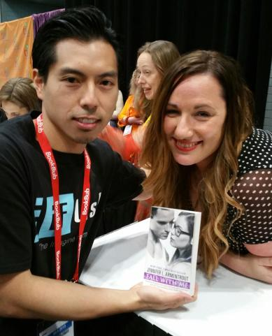 Benny Hung and J.L. Armentrout!