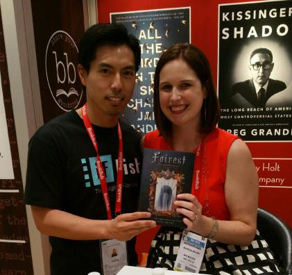 CEO and Co-Founder Benny Hung and Marissa Meyer