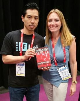 Benny and author Meredith Wild