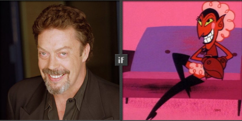 Tim Curry proposed for Him