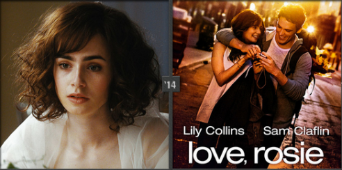 Lily Collins played Rosie Dunne