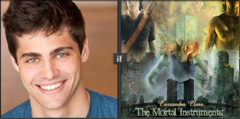 Matthew Daddario will play Alec Lightwood in Shadowhunters