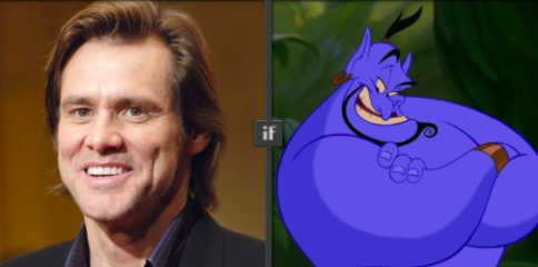 Jim Carey proposed for Genie